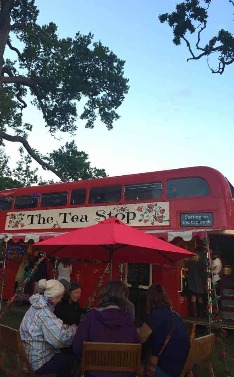 wilderness festival tea bus