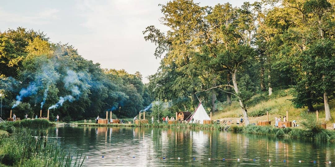 wilderness festival lakeside spa