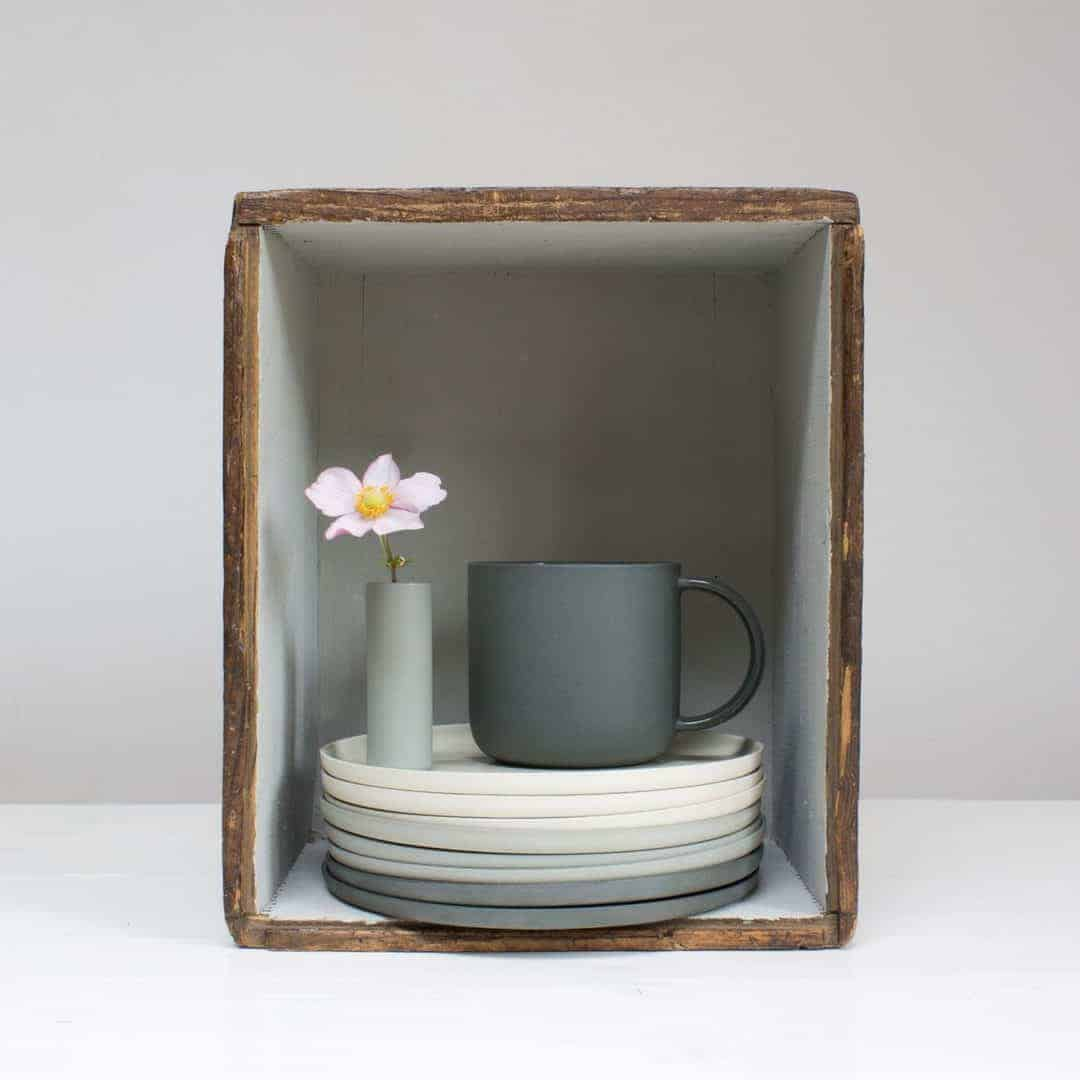 handmade scandi inspired ceramics and pottery made in England by Pippi and Me. Click through to discover more about Pippi and Me and other makers from Kirstie Allsopp's Handmade Fair