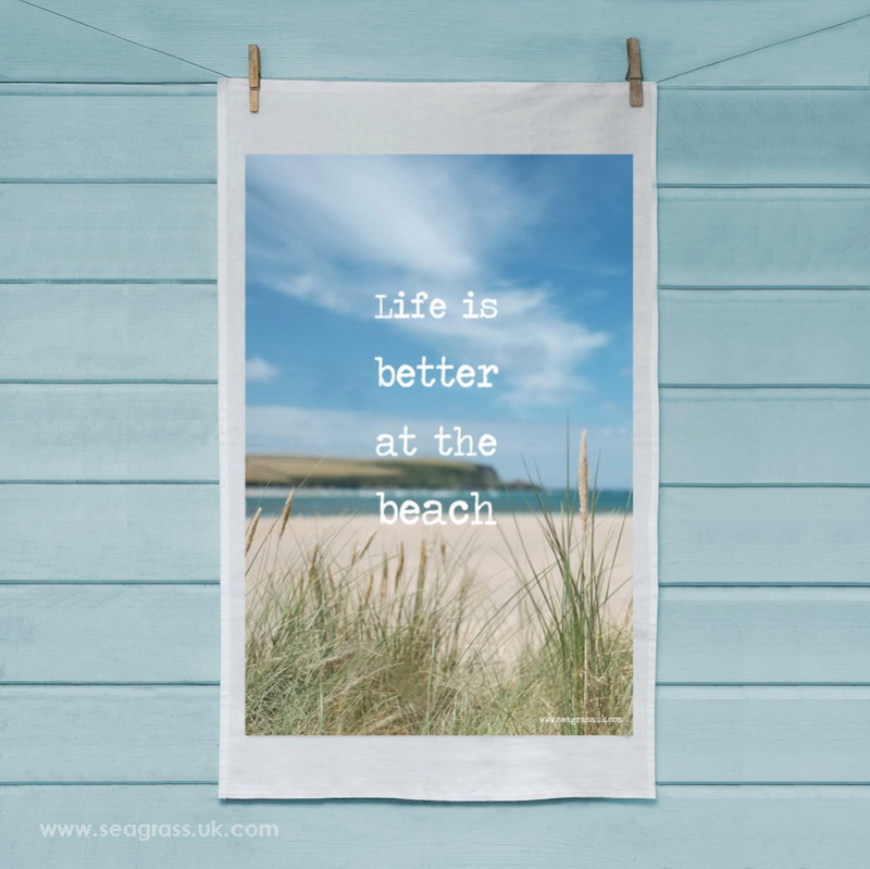 seagrass-tea-towel-life-is-better-beach-square-2