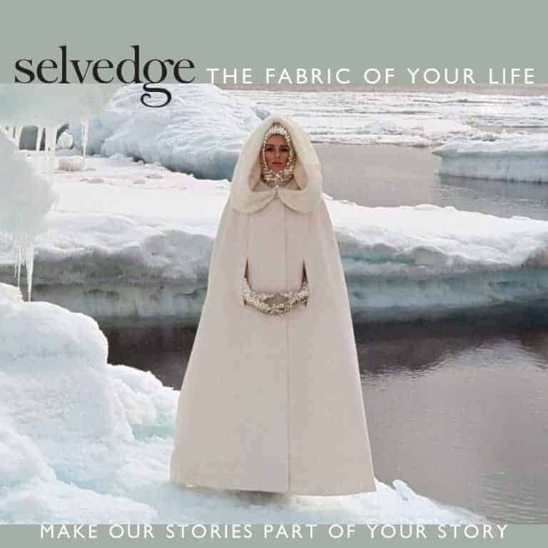 selvedge winter magazine cover