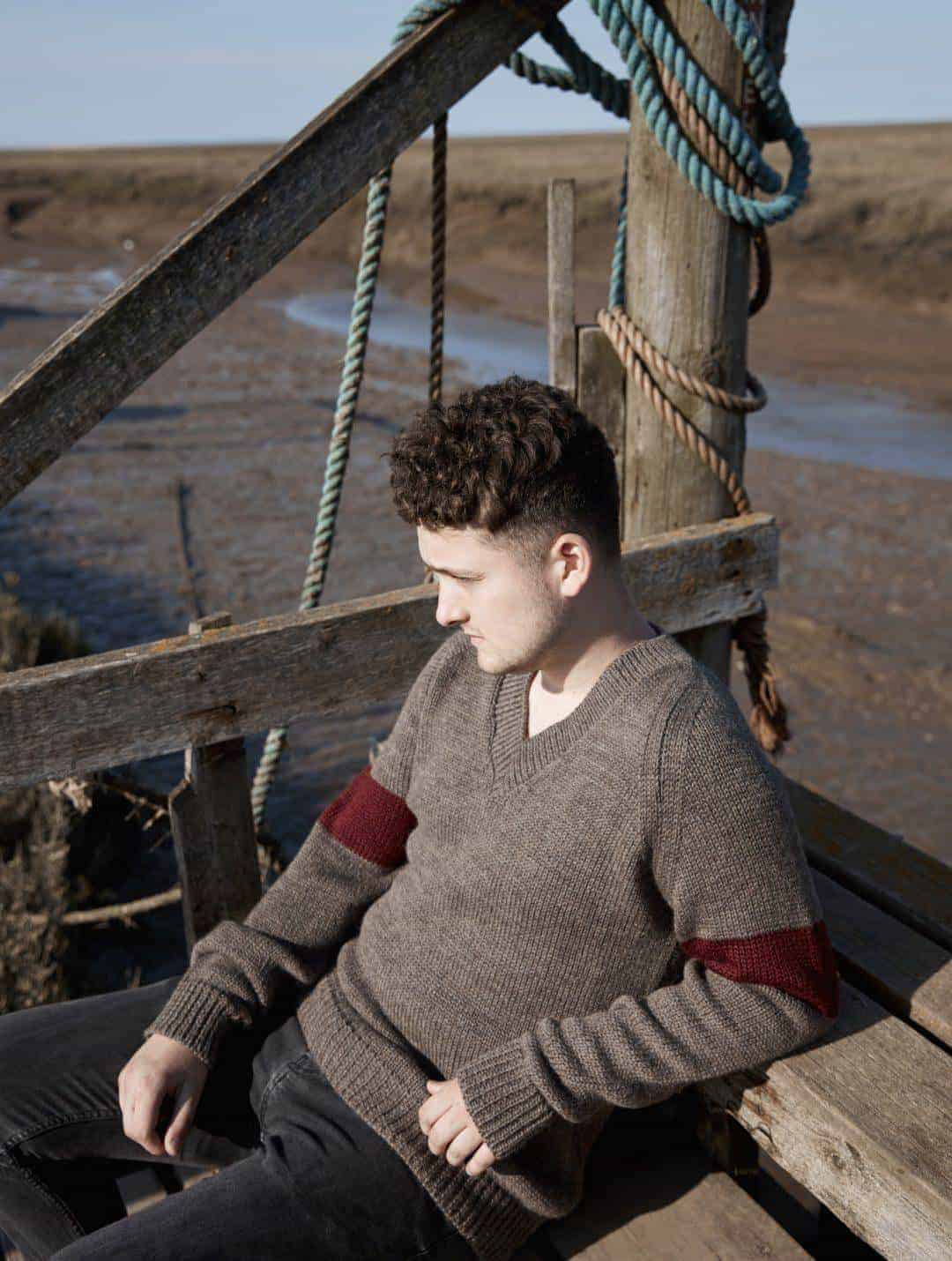 love the new seasonal natural knitwear by izzy lane made in Britain using wool from her own flock of sheep. Click through to see the whole beautiful new collection