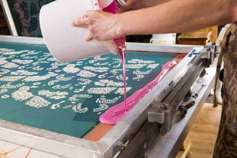 madder cutch and co fabric printing workshop