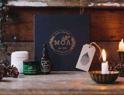 MOA magic organic apothecary facial gift set