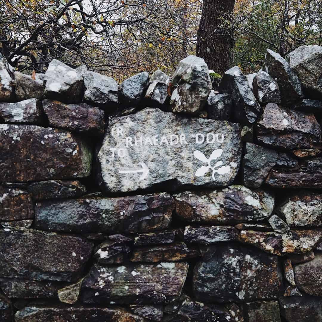 Love this painted sign on welsh stones and slates. Slow living in Snowdonia - meet creative business coach, marketing mentor and blogger Simple and Season Kayte Ferris. She shares a little of the story behind her slow living lifestyle in Snowdonia as well as tips for achieving a more soulful lifestyle wherever you live
