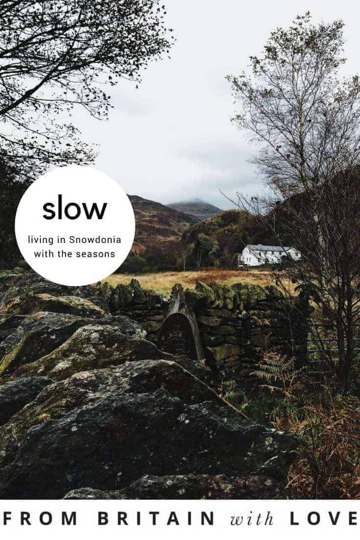 slow living in snowdonia with Kayte of Simple & Season. Click through for insight into her soulful slow lifestyle and get lots of great ideas for finding simple soulfulness wherever you live