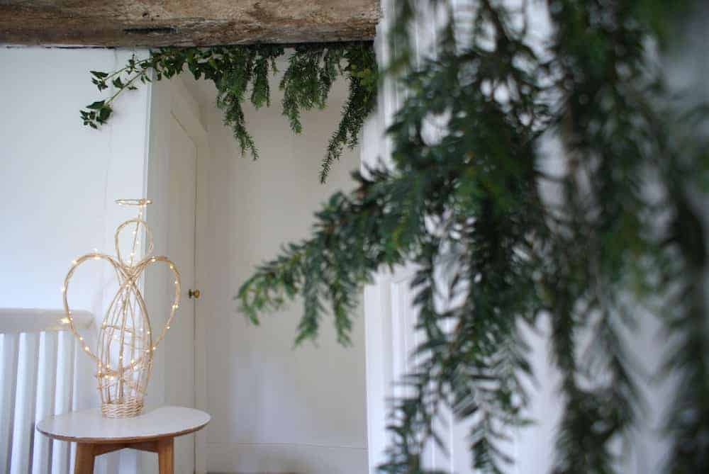 how to make a willow angel christmas decoration