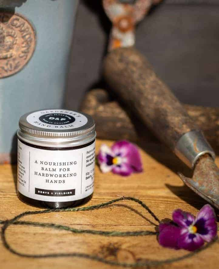 gardener's hand balm sustainable and natural and handmade in Kent using plant based ingredients - just one of my gift ideas for gardeners #gifts #giftideas #gardeners #gardening #hand #balm
