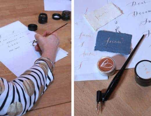 gemma milly contemporary calligraphy workshop