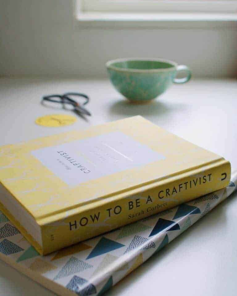 how to be a craftivist book by sarah corbett