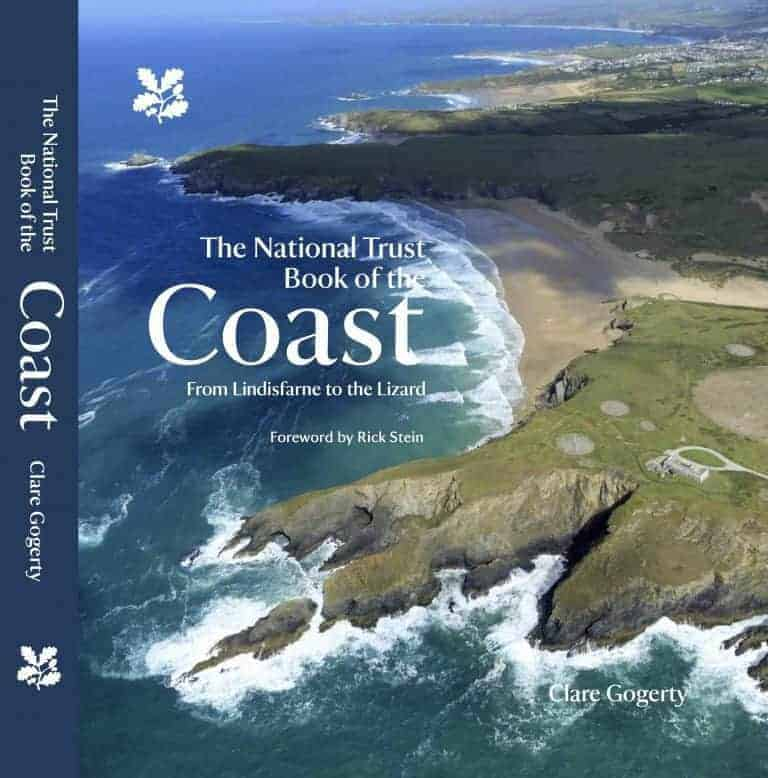 national trust coast book by Clare Gogerty with a foreword by Rick Stein