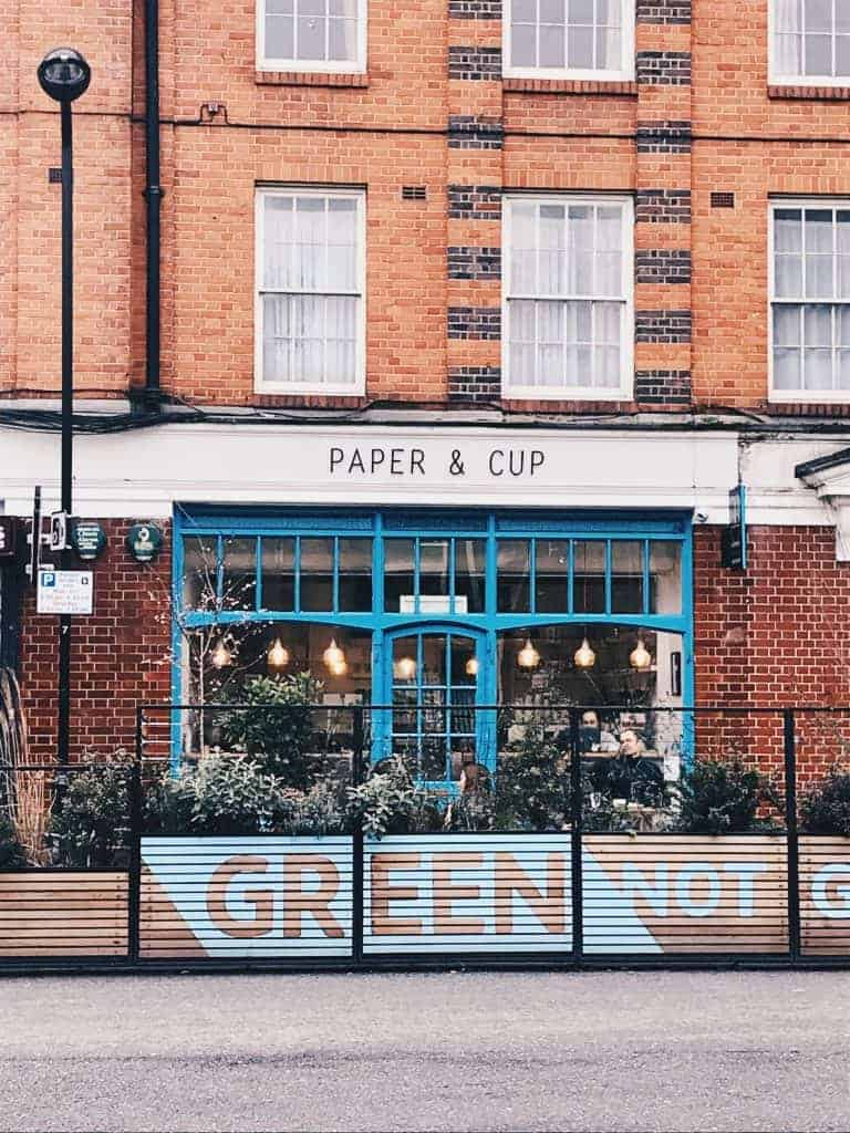 paper and cup cafe shoreditch