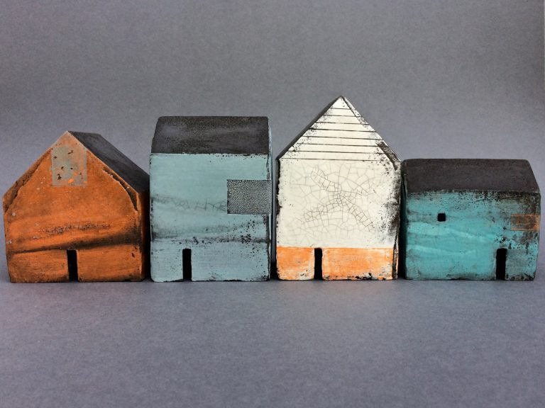 rowena brown ceramic house