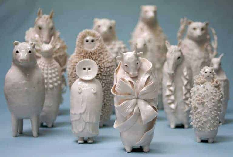 sophie woodrow ceramic porcelain figures