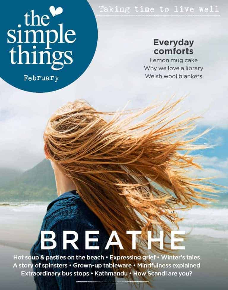 the simple things magazine february cover