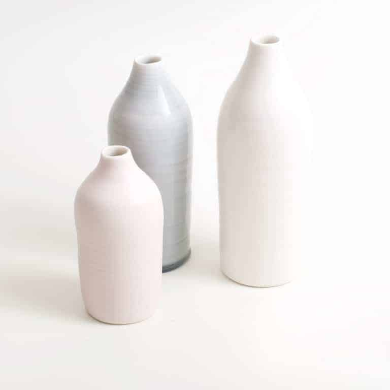 Linda Bloomfield ceramic bottle