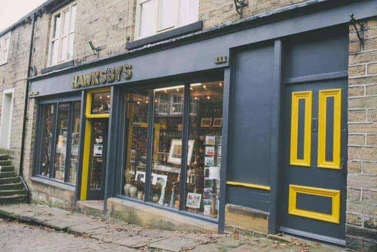 hawksbys shop haworth north yorkshire