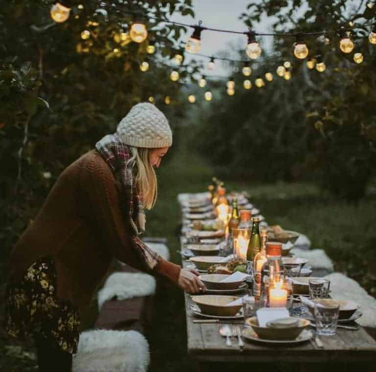 creative countryside gatherings candlelight