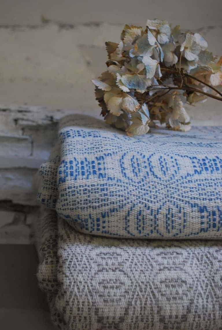 love these welsh blanket bedspreads woven in wales for Damson & Slate