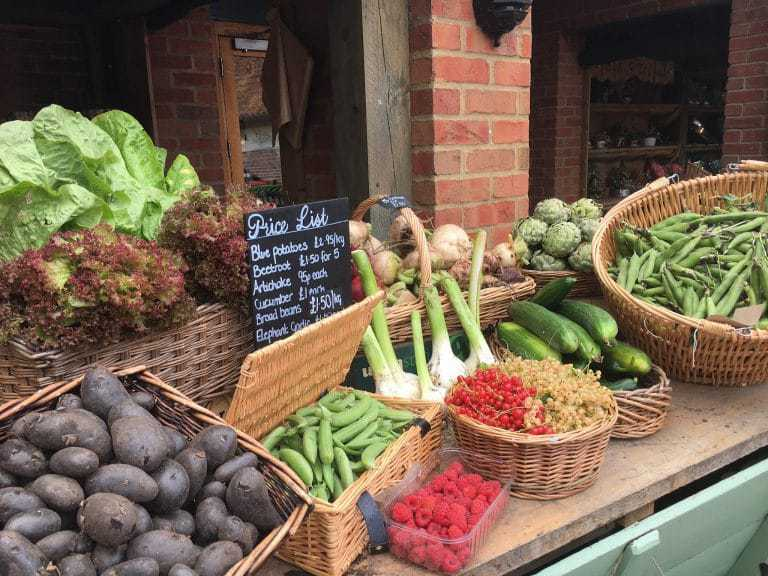 doddington hall farm shop lincolnshire. Just one of the great local loves shared by Creative Countryside editor Eleanor