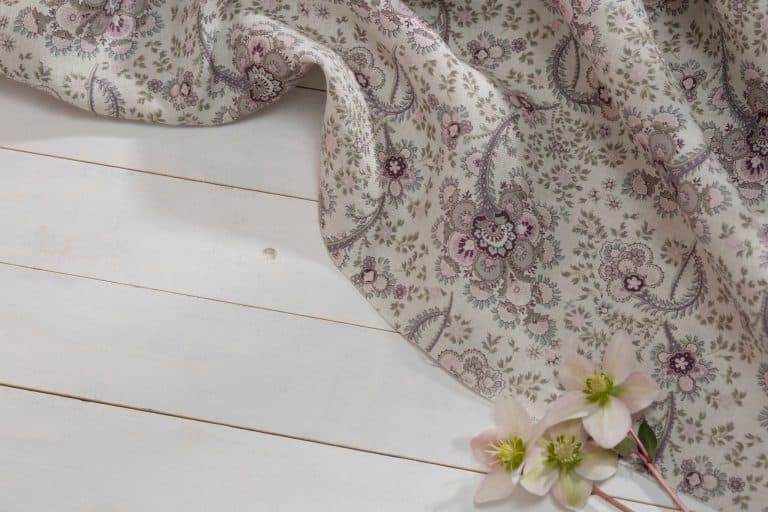 love this faded floral linen by olive and daisy in soft dusky pinks and greys. Tumbled linen made in Scotland. Click through to discover more beautiful designs you'll love