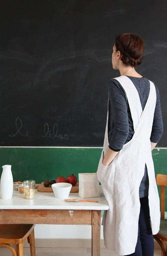 love this cross back japanese style pinafore apron from pinterest