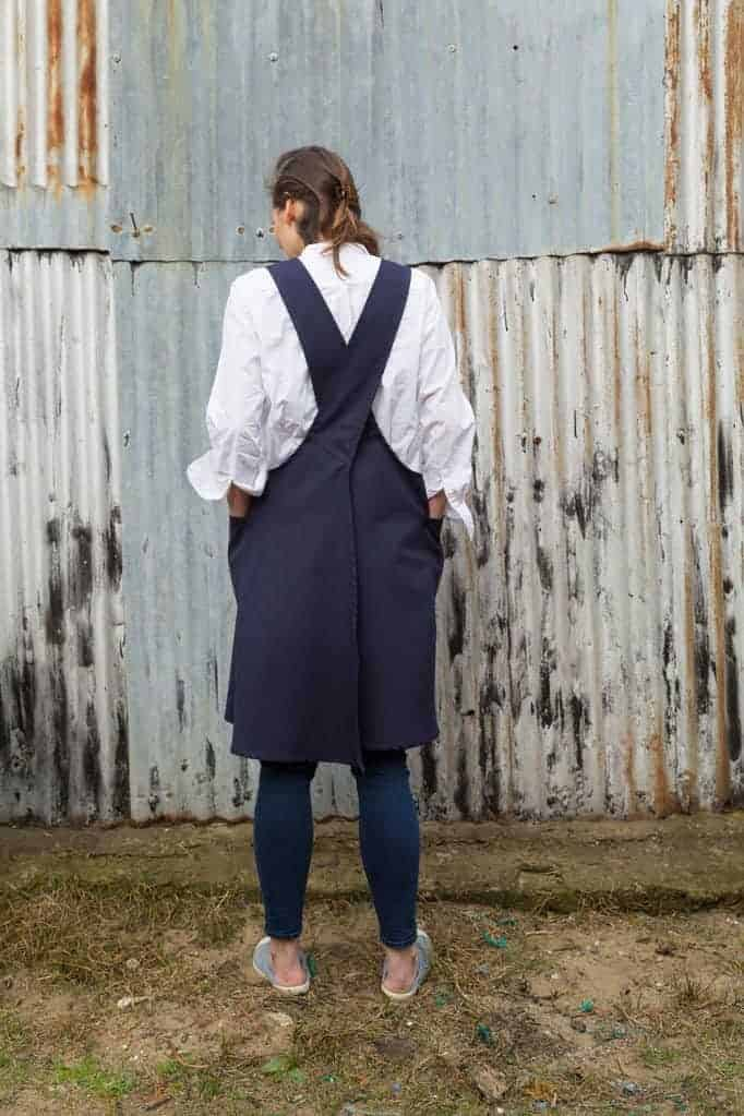 df82587a32 love this crossover apron by Spry Workwear. Click through to discover more  and to find ...