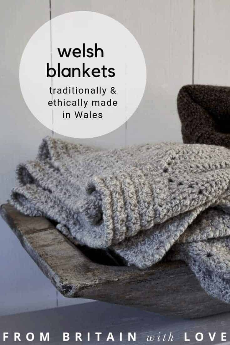 love these pure wool ethical welsh blankets made in Wales for Damson and Slate. Click through to discover this wonderful ethical homeware brand created by ex Sunday Times Interiors Editor and Stylist Hilary Lowe. Click through to see the whole collection of beautiful welsh made blankets, cushions, textiles and linens #welshblankets #madeinwales #ethicalhomeware #damsonslate #frombritainwithlove #madeinbritain #wool #sustainable