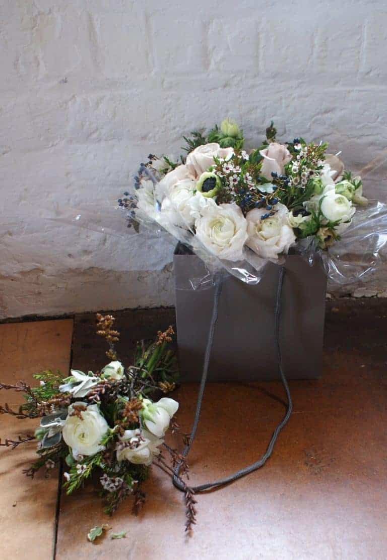 how to make hand tied bouquets