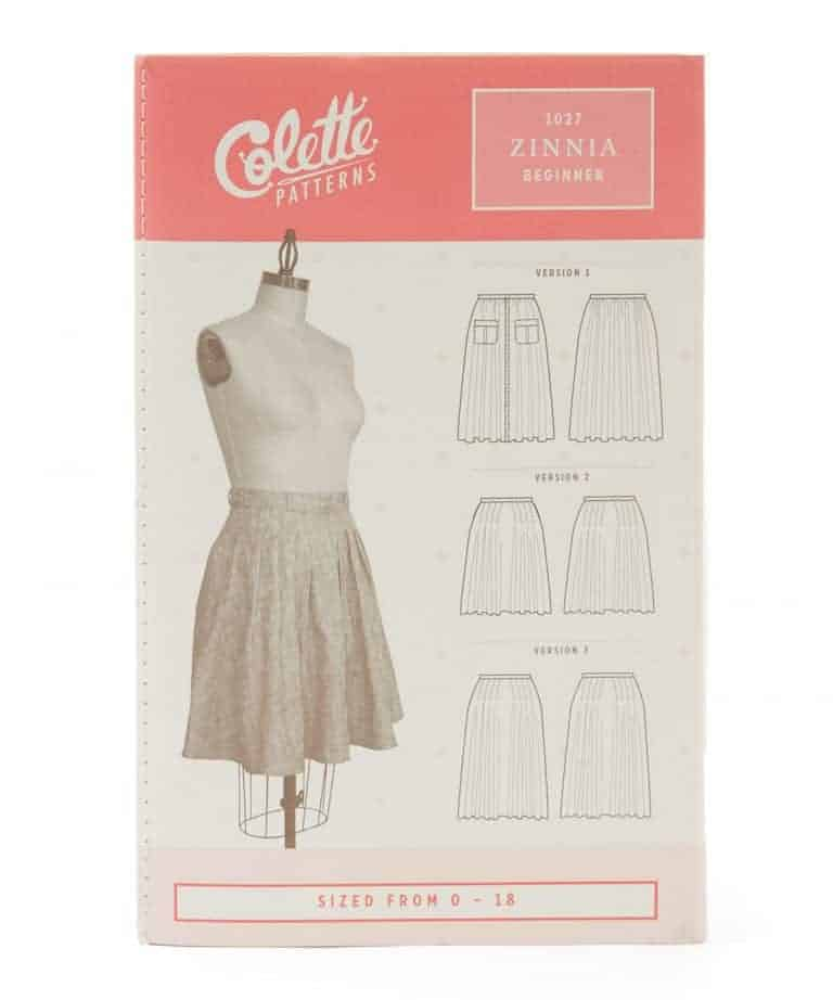 love this simple to make colette skirt pattern. Click through for skirt making ideas you'll love