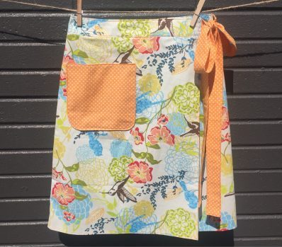 love this simple wraparound skirt too by be so crafty. Click through to find out how to make it with a simplicity pattern