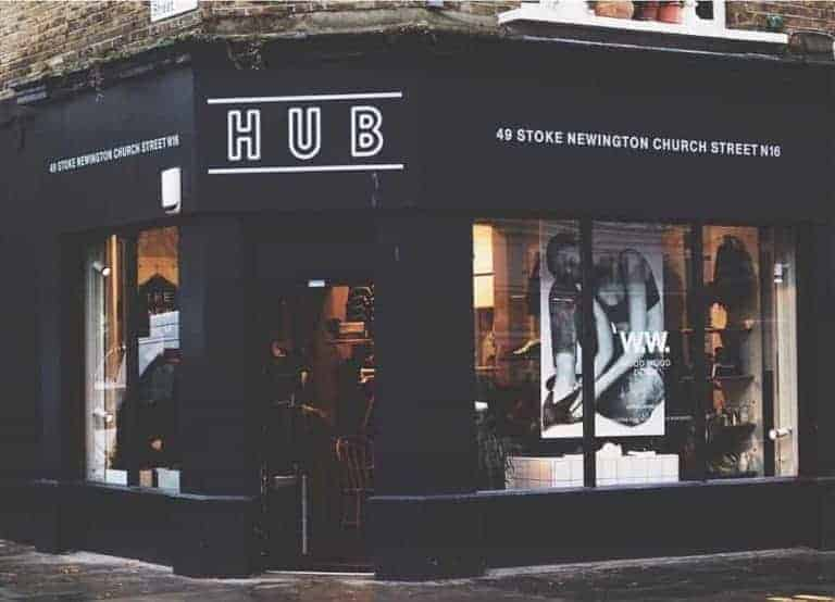 hub stoke newington shop