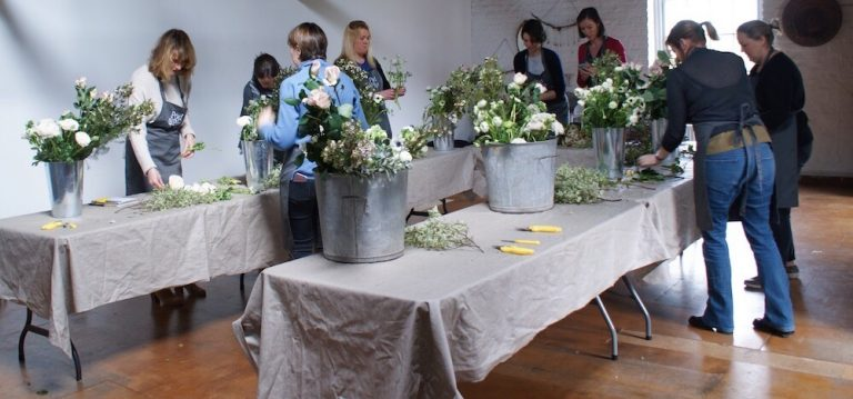 pod and pip flower workshop