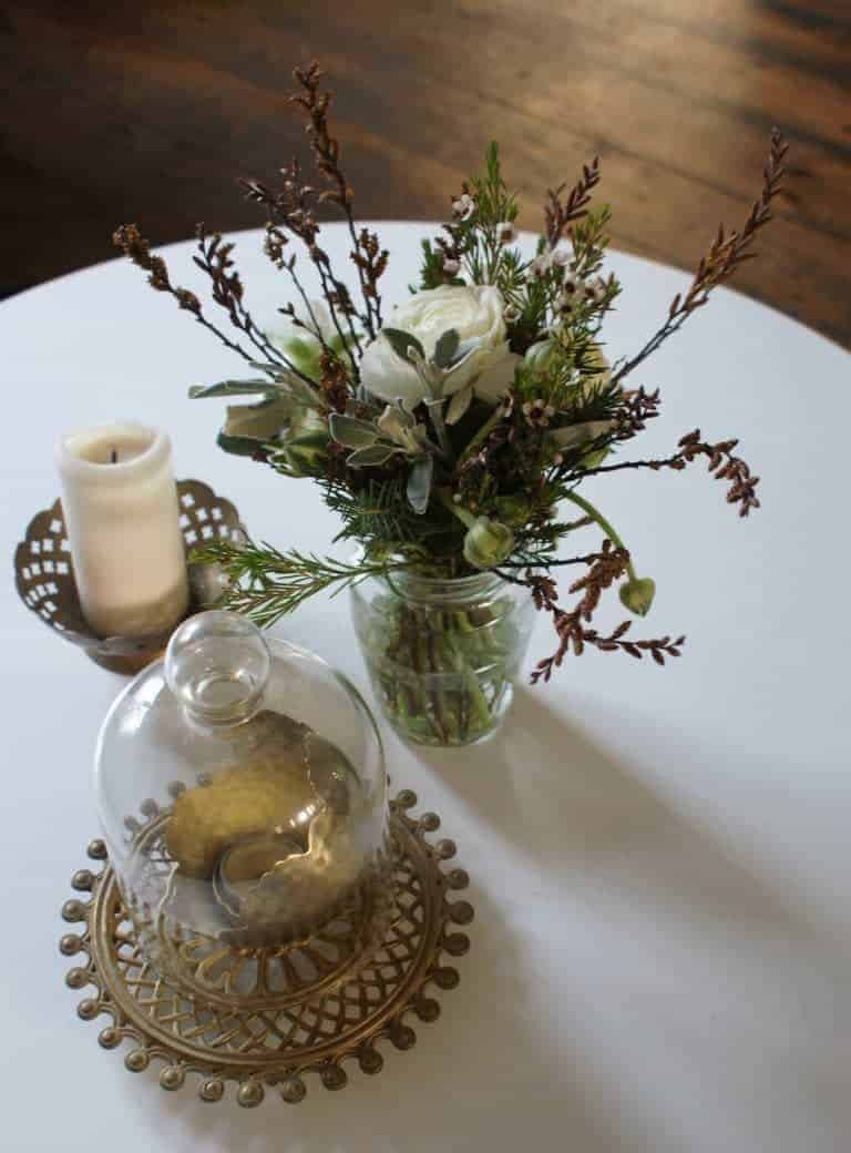 how to make a rustic posy