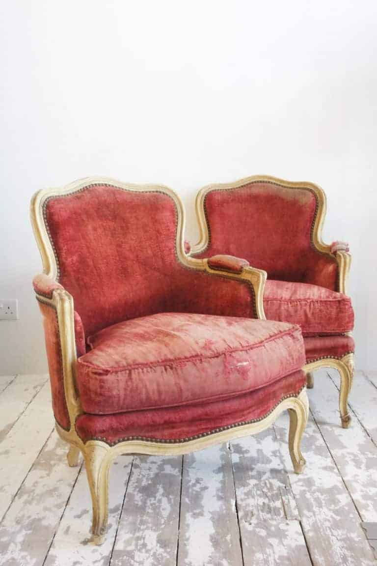 belle epoque french chairs