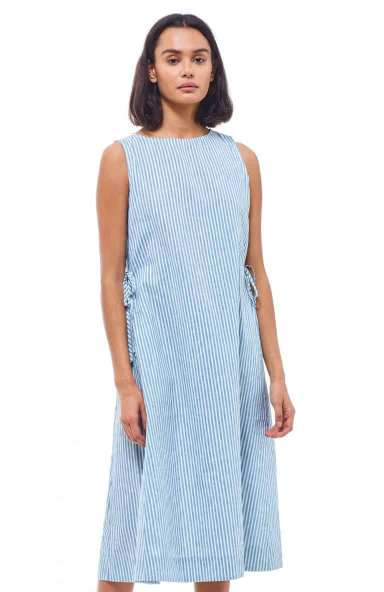 love this you must create linen dress in pale blue and white stripe. Click through to discover more linen dresses you'll love