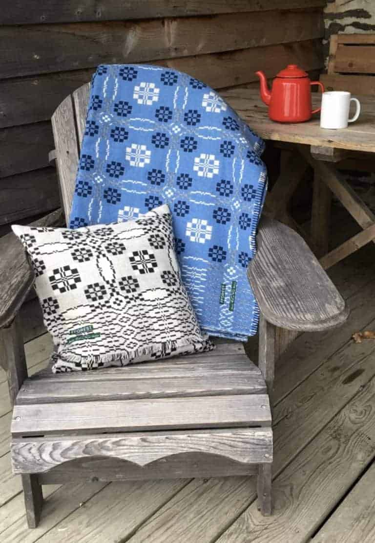 love this blue welsh blanket by fforest. Click through for more welsh blankets you'll love