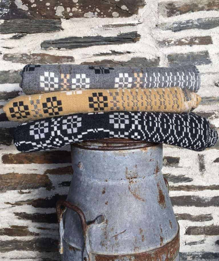 love these grey welsh blankets by fforest. Click through for more welsh blanket finds you'll love