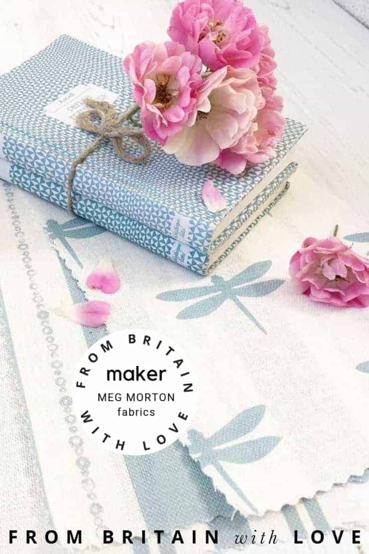 love Meg Morton country fabrics, wallpapers and accessories in soft. pretty colours designed in Dorset and printed in the UK. Click through to discover more about Meg Morton country furnishings as well as other hand-picked UK makers