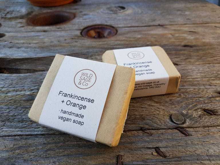 wild sage and co vegan soap