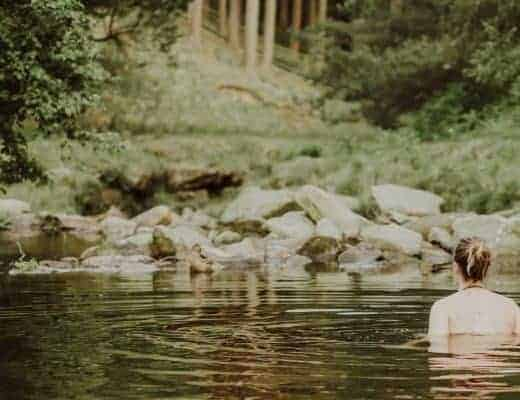 wild swimming with anya of oak and claw