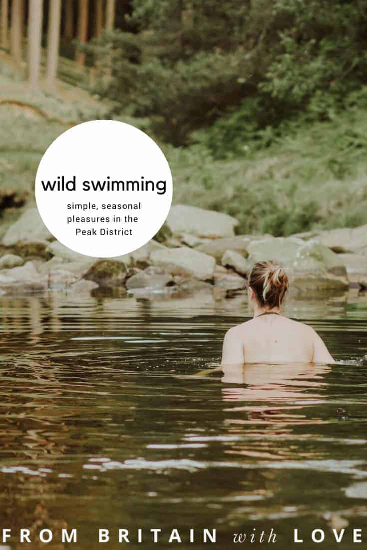 love the idea of cold water wild swimming in the peak district - just one of the seasonal simple and mindful pleasures of Anya from Oak and Claw. Click through for more inspiring ideas you'll love