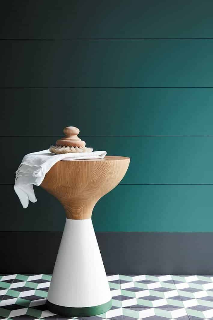 green paint colours for bathroom cloakroom