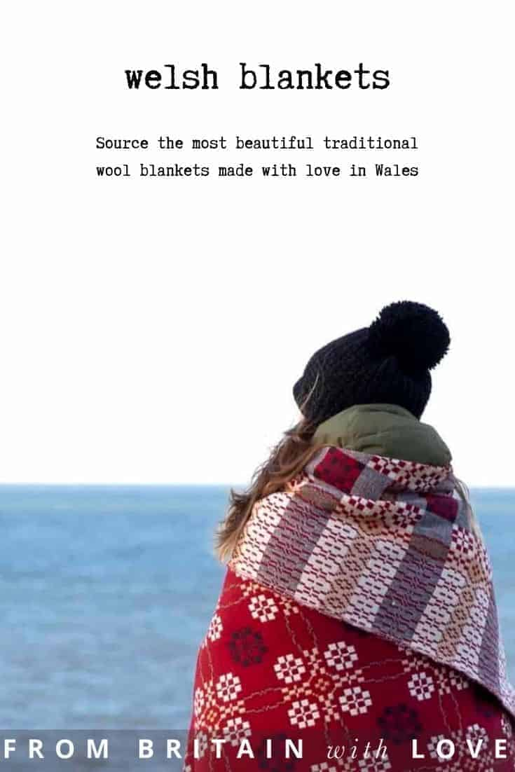 welsh blankets - my pick of the most beautiful all made with love in Wales using traditional tapestry designs and weaving techniques and craftsmanship. Find beautiful bed covers, throws and blankets by Trefriw, Melin Tregwynt, FelinFach, Jane Beck, Jen Jones, Fforest Cold at Night, Damson & Slate and more #welsh #blanket #tapestry #madeinwales