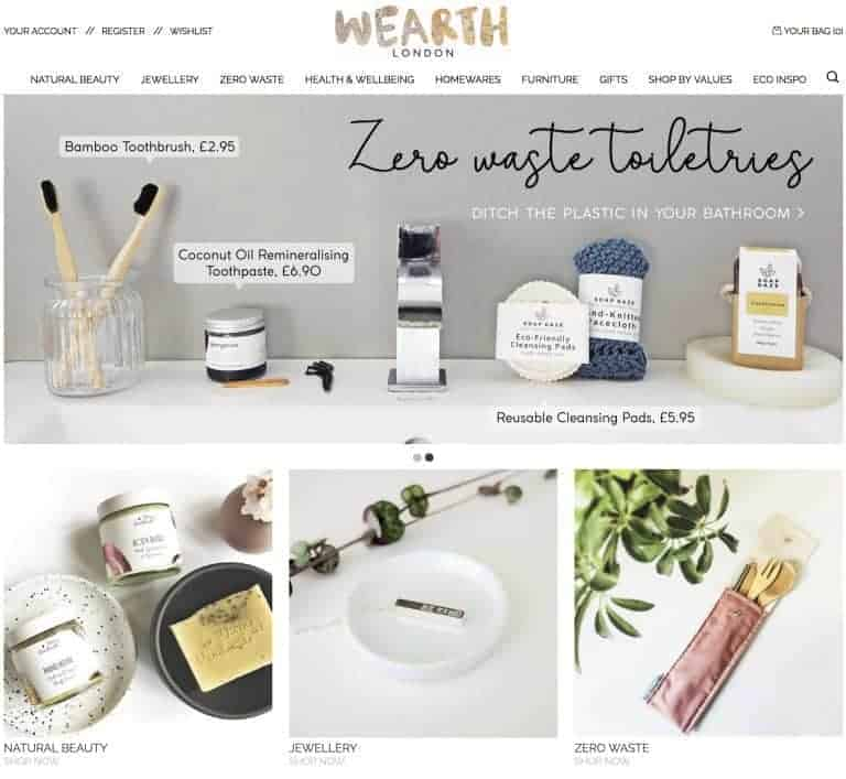 wearth london website