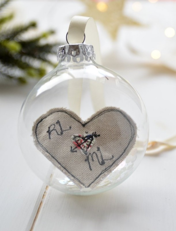personalised-embroidered-love-heart-glass-bauble-handmade-poshyarns