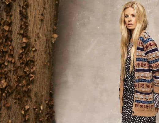 love this cashmere fair isle cardigan part of the 25th anniversary Brora collection in collaboration with Marie Claire fashion director Jayne Pickering. Click through to see the rest of this utterly beautiful collection of cashmere and boho silk dresses and skirts #brora #madeinbritain #cashmere #autumnfashion #boho