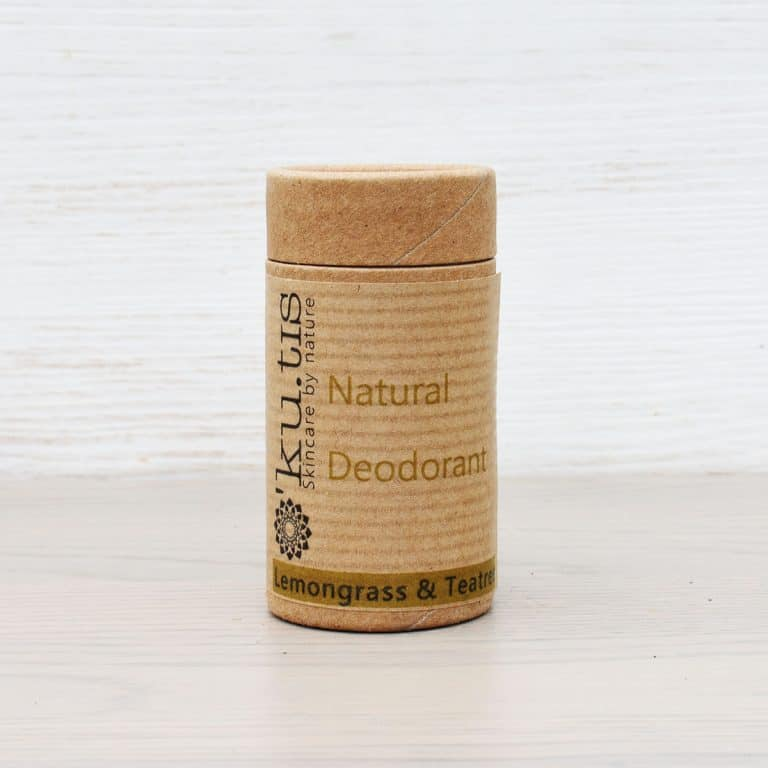 love this natural plastic free zero waste deodorant made in wales by kutis. Click through for more zero waste and plastic free beauty and bathroom products you'll love