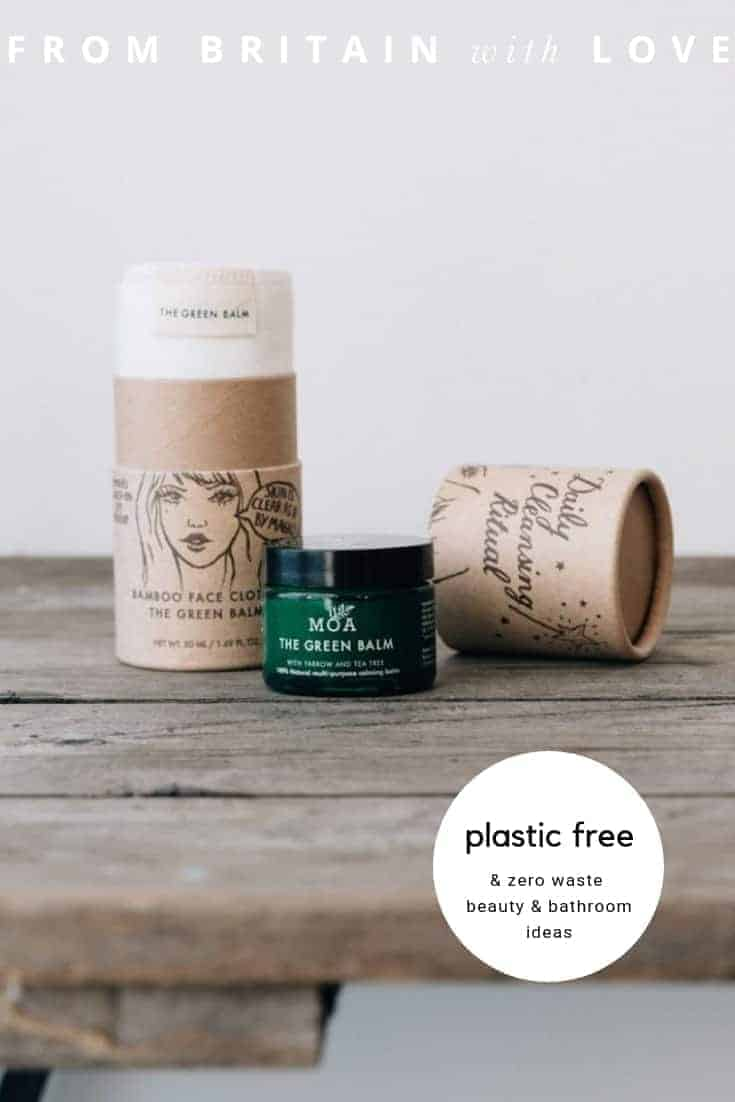 Plastic free zero waste beauty & bathroom ideas