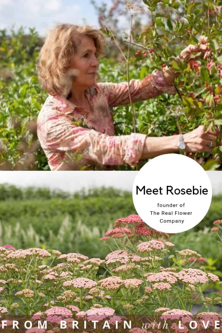 meet rosebie morton, founder of the real flower company, who shares the story behind her business as well as her inspirations and tips for finding creativity